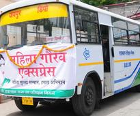 Nitin Gadkari introduces buses with safety features for women passengers