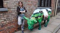 Cow sculptures to raise cash for farming charity