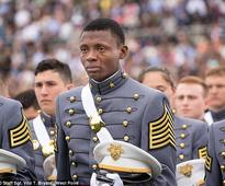 West Point graduate from Haiti in tears mid-ceremony as he thanks the Military Academy