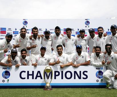 India retains No 1 Test ranking