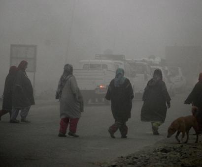 At minus 0.5 degree, Srinagar records coldest night so far
