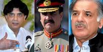Nisar, Shehbaz exchange views on important matters with COAS