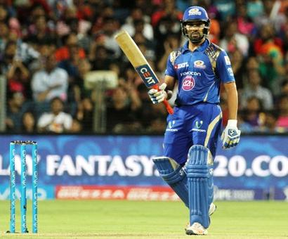 IPL PHOTOS: Brilliant Rohit propels Mumbai Indians to second spot