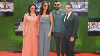 Check PICS: Virat Kohli and Anushka Sharma arrive at 'Sachin: A Billion Dreams' premiere