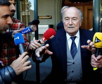 Blatter reveals frozen balls ruse at European club draws