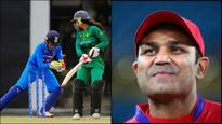 Sehwag hilariously destroys Pakistan cricket as Indian women beat Pak in Women's World Cup Qualifier