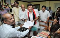 DMK-Congress alliance candidates file nomination papers in Madurai district