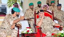 Crown Prince visits Royal Guards, awards medals to BDF personnel