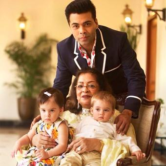 When Karan Johar's mum turned 75