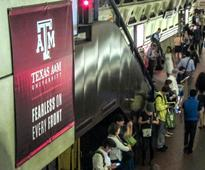 A little bit of Aggieland has taken over Metro Center this month