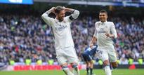 La Liga: Ramos double secures win for Real Madrid