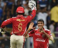 IPL 9: Axar Patel's hat-trick, Murali Vijay's 50 help Punjab bag second win