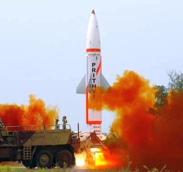 Nuclear capable Prithvi-II missile successfully test fired