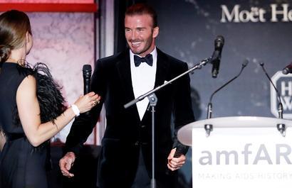 Beckham sold for 350,000 euros