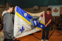 Kingston Catholic school flies own flag