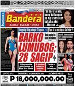INQUIRER BANDERA LUZON JANUARY 19, 2017