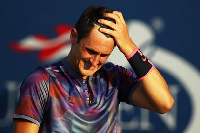 US Open: Cheeky Tomic admits he's 'not the smartest' after flop show