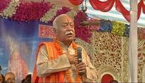 Godmen divided over Bhagwat's 'Hindu' remark