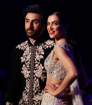 Grand debut! Ranbir, Deepika come together for Manish Malhotra