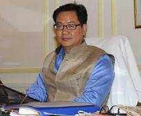Centre is taking serious steps against insurgency in North East: Kiren Rijiju