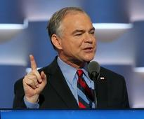 Tim Kaine Mocks Donald Trump for Confusing Virginia and New Jersey