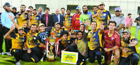 Tanveer stars as Al Feroz win QCA Super Cup The players and officials of Al Feroz Youngsters, winners of the Qatar Crick...
