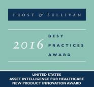 Frost & Sullivan Presents Tego with 2016 United States Asset Intelligence for Healthcare New Product Innovation Award