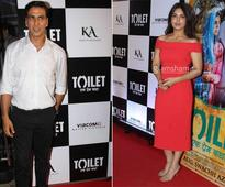 B-town celebs at Akshay Kumar's TOILET special screening - News