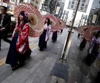 Japan July consumer prices post biggest annual fall in three yrs