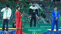 Indian wrestler Bajrang Punia bags gold in Asian Indoor Games