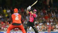 Big Bash League: Michael Lumb leads Sydney Sixers to massive win over Melbourne Renegades