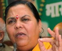Will Congress president clean this dirt?: Uma Bharti takes dig at Sonia for Parl disruption