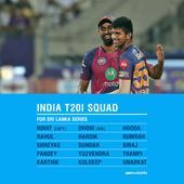 Washington, Thampi, Hooda in India's T20 squad