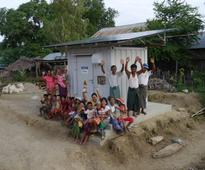 Panasonic Provides the Power Supply Station a Stand Alone Photovoltaic Power Package to Off Grid Areas in Myanmar