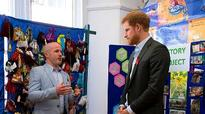 Prince Harry follows in Diana's footsteps with visit to HIV charity 26 years on