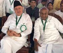 Secular fabric of the country being eroded: Farooq