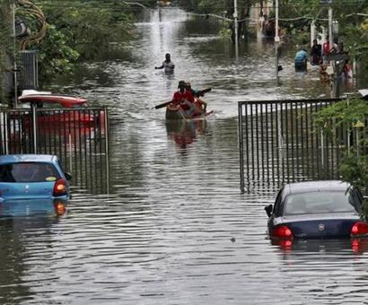 Corporates, banks donate Rs 22 crore for flood-relief activities