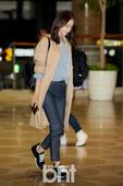 SNSD Yoona Spotted at Gimpo Airport
