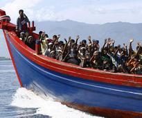 Dozens of Rohingya fleeing Myanmar go missing as boat sinks near Bangladesh