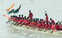 Bangladesh: Thousands watch Border Security Force-Border Guards Bangladesh boat race in Mymensingh