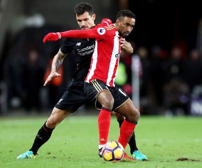 EPL PHOTOS: Sunderland hold Liverpool; 10-man City beat Burnley
