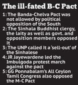 The abortive Banda-Chelva pact of 1957 ...