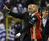 International friendlies: Kevin Mirallas can rediscover form with Belgium, says Roberto Martinez