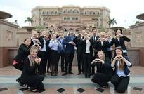 Top finnish students on Abu Dhabi tourism fact finding mission