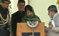 3 Union Ministers Miss Swearing-In Of Mehbooba Mufti, Nirmal Singh