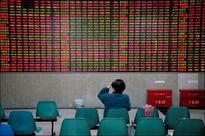 Hong Kong shares fall, shrug off robust China industrial profits