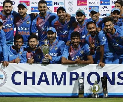 PHOTOS: Chahal's splendid show seals T20 series win for India