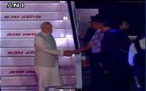 PM Modi returns from 'productive visit' to Tashkent