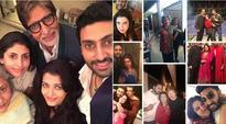Amitabh Bachchan, Farah Khan welcome Abhishek Bachchan into 40s club