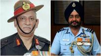 Bipin Rawat, Birender Singh Dhanoa assume charge as army, IAF chiefs